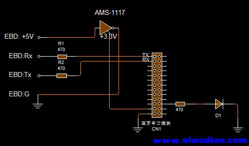 看了坛友有关改蓝牙的帖子,也有了将电子负载EBD-A改为蓝牙连接的冲动,可以少拖一根USB线, 更为方便一点. 买的是HC-06从模块, 中间走了许多弯路, 烧了一根PL2303, 总算大功告成. 其中几点意见,供有意改装参考: 1.HC-06模块到手后, 短接RX和TX, 加电后, 如果在串口调试软件中, 回显正常, 即模块正常; 2.