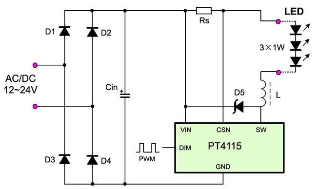 请推荐12v 2a电流的驱动 - 电池,充电器,综合diy - 谈