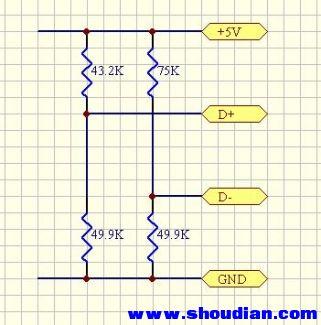 求识别电阻的电路图