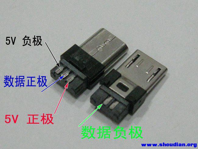 求micro-usb接口定义