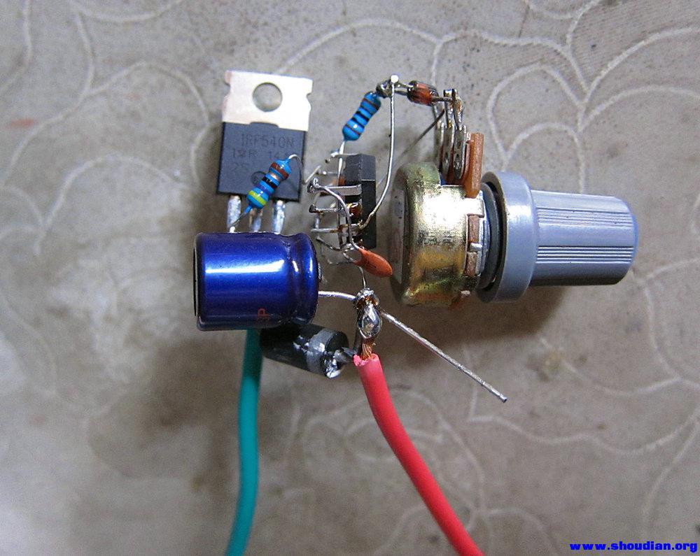 做了个调速小电钻 - 电池,充电器,综合diy - 手电大家