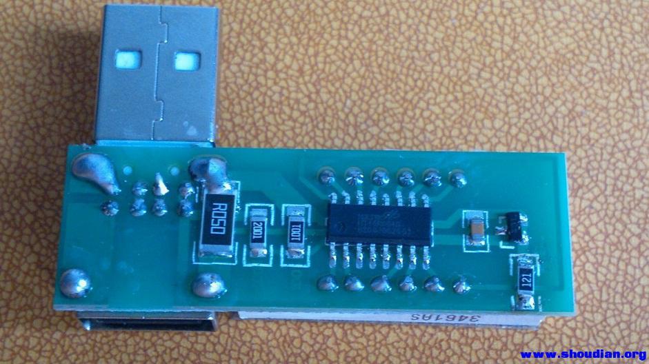 最近论坛里出现的usb电压电流表拆解