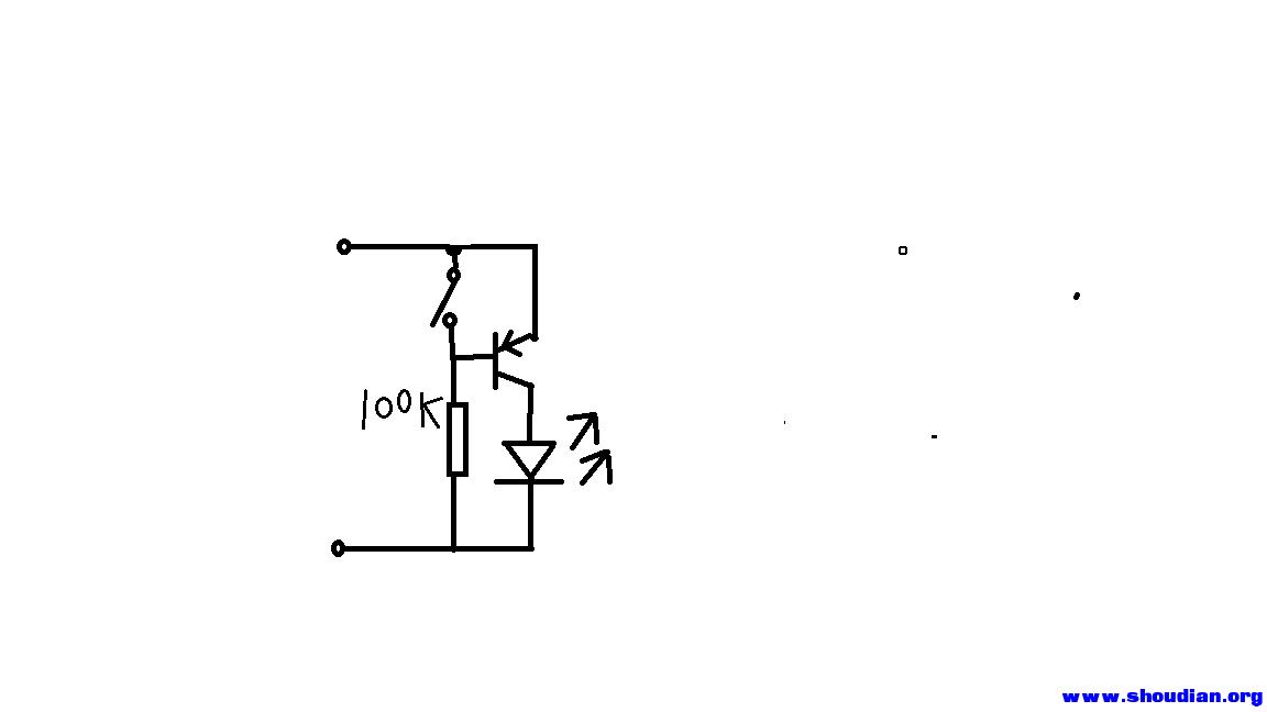 pnp 三极管怎么做开关