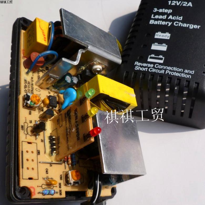 12v铅酸充电器如何改成小电流啊