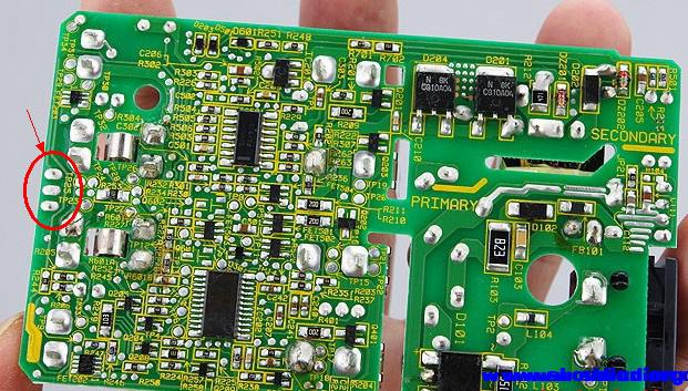 关于三洋m55的充电指示灯问题.