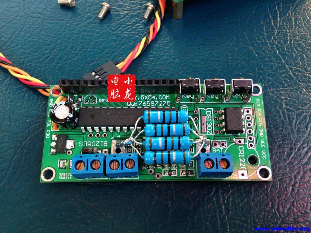 [小龙电脑]给实验电源做了个超高精度lcd1601液晶电压表 电流