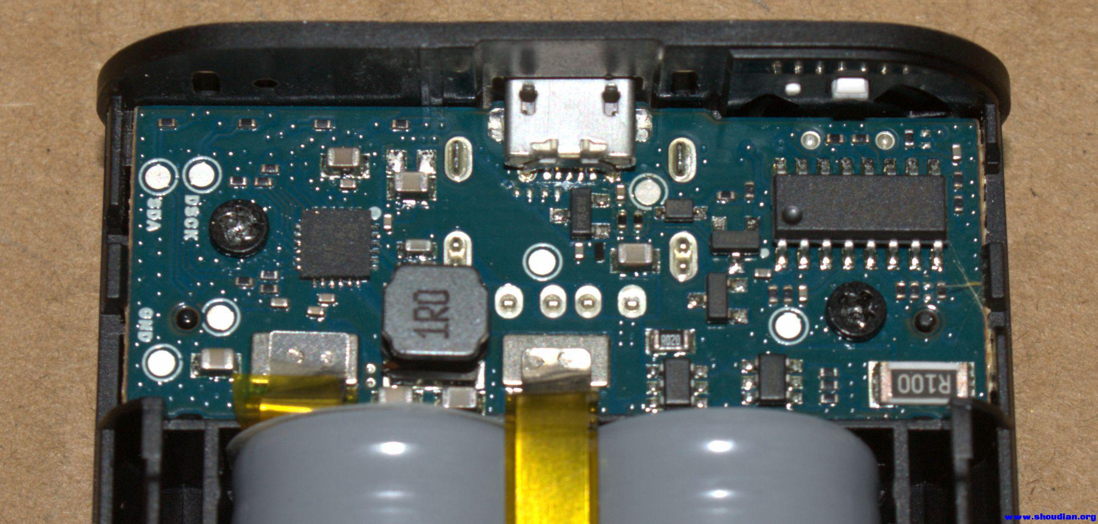 小米5200移动电源拆机,论坛首发 - 电池,充电器,综合