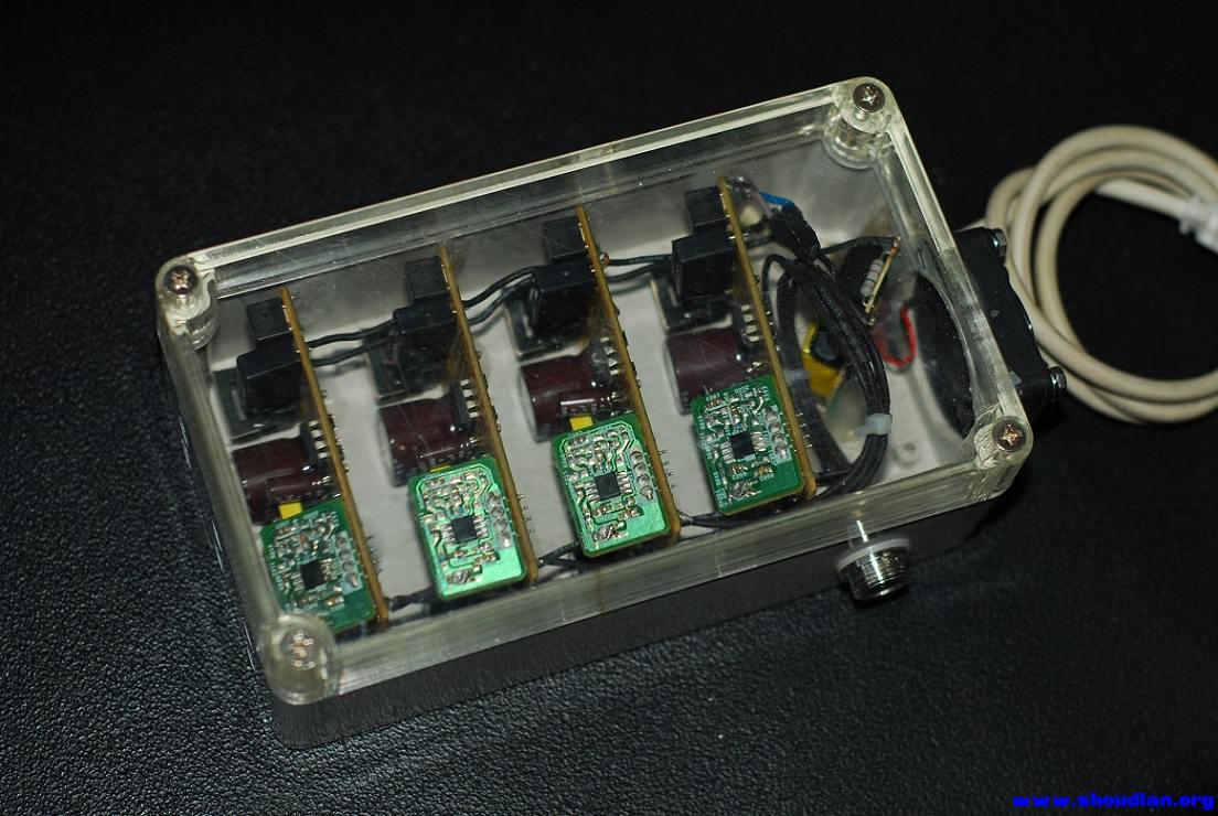 因为电池是四片锂电串联的,为了延长电池的寿命,计划用平衡充充电