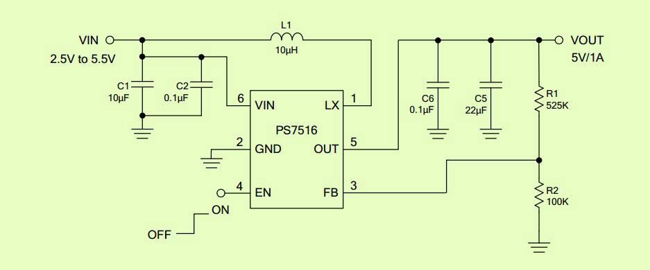 锂电池升压5v1a的同步整流升压ic,这效率亮瞎了,转载