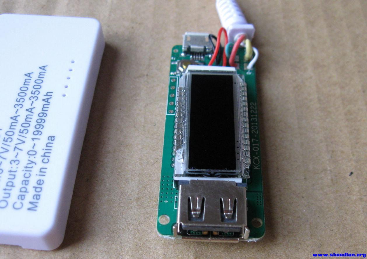 拆 新版白尾巴~usb电压电流表 et-001
