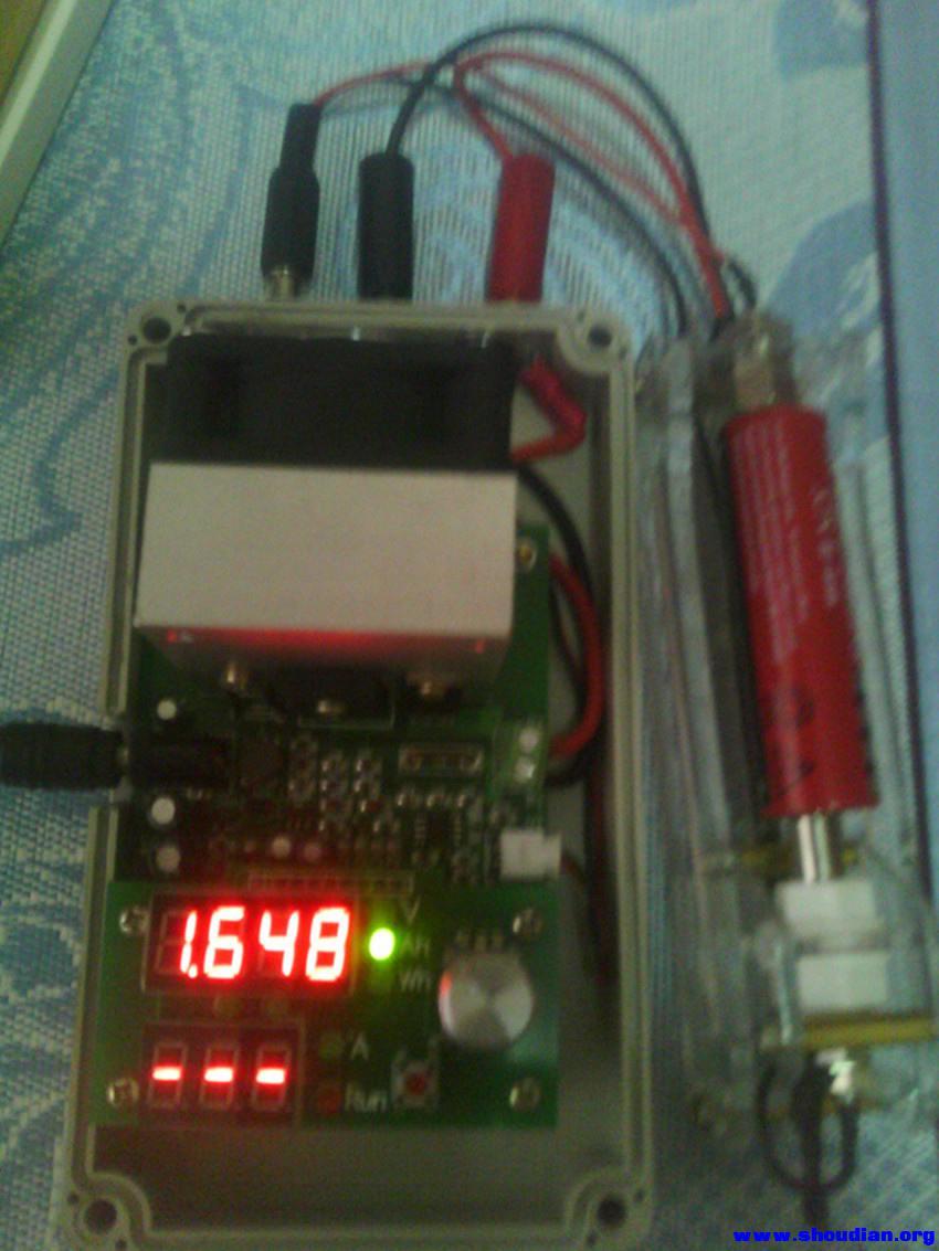 康铭电蚊拍电池测试