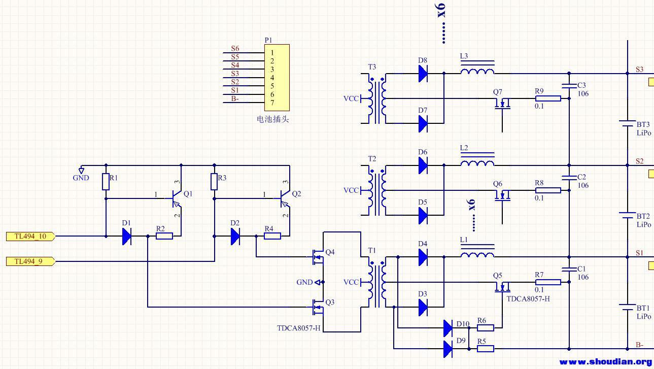 una6 电路原理详解 - 电池,充电器,综合diy - 手电谈