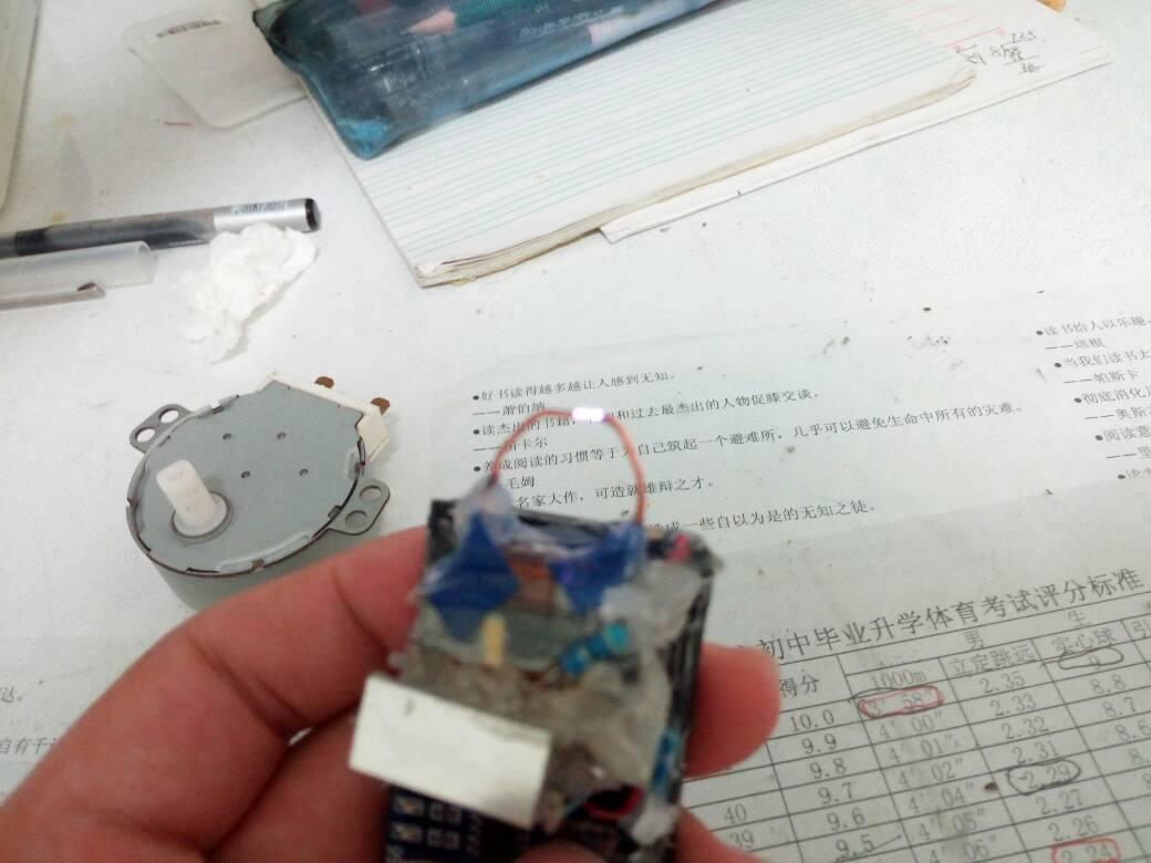 自制电弧打火机