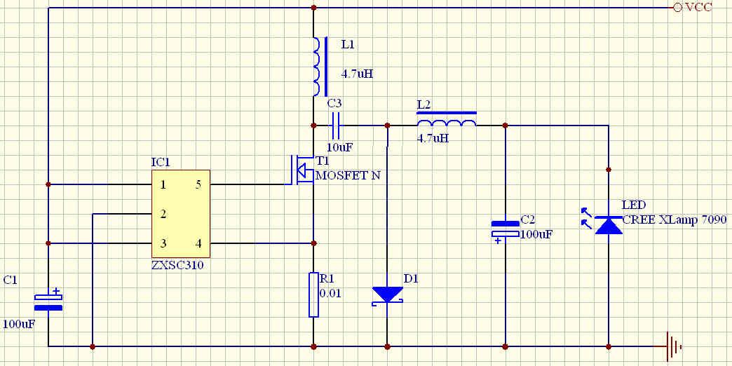 升降压驱动电路 - 手电设计&diy(homemade&modified)