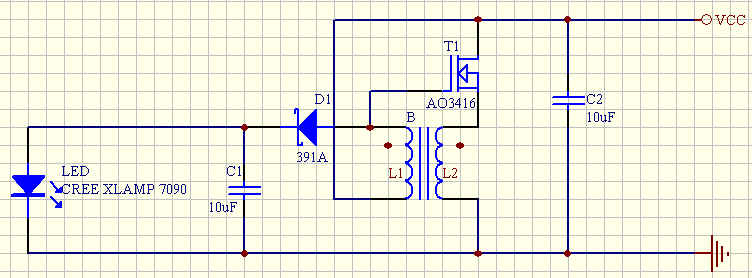 超简单,更高效,1aa电路又来了 - 手电设计&diy(home&)