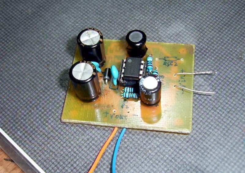 34063电路板刻好了,测试效率顺带问些问题.