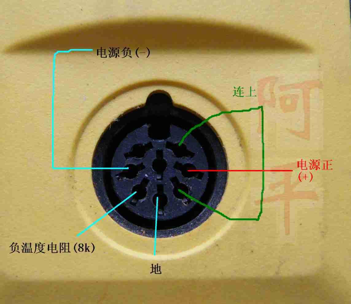 白光焊台与烙头接线图 - 电池,充电器,综合diy - 手电