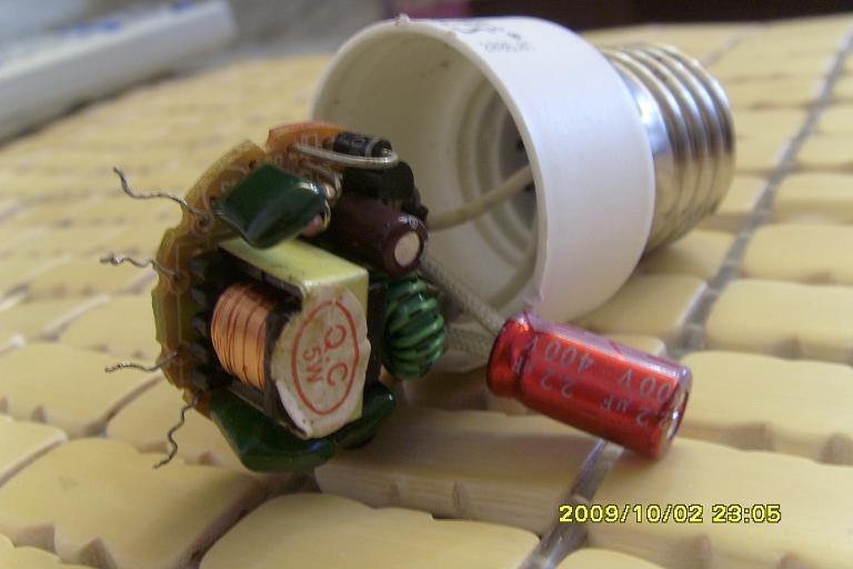 废旧节能灯改led灯问题