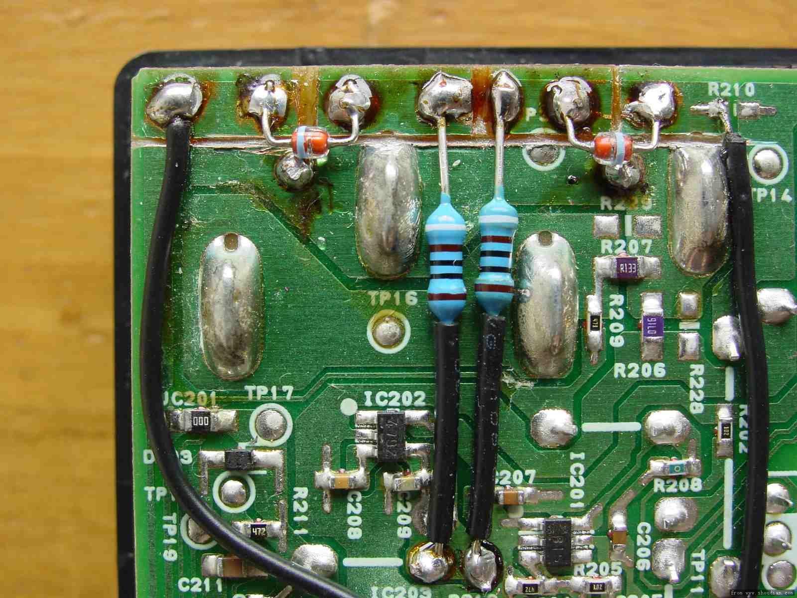 无损拆开cs2a充电器外壳,加装led指示灯显示充电和涓流状态
