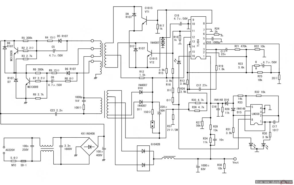 48v电动车充电器改12v电瓶充电问题.