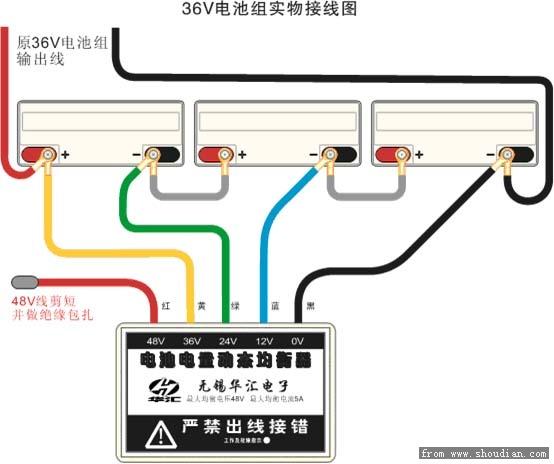 2种 1.铅酸 常用的铅酸是由4块12v电池12AH的铅酸电池组成48v12AH.常用在电动自行车上. 常用的还有一种是4块12v20AH的组成的48v20AH.常用在电摩上.那些所谓标称24AH,28AH都是根据放电电流不同来虚标的. 除了这2种常见的规格外,还有一种是单体16v的电瓶,但是这个不常用,忽略. 如果要超60v或者72v或者更高,只需要加相应的电池就行了.