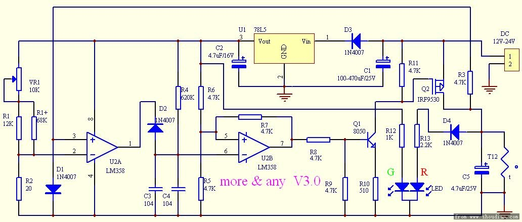 ddz-iii 调节器电路