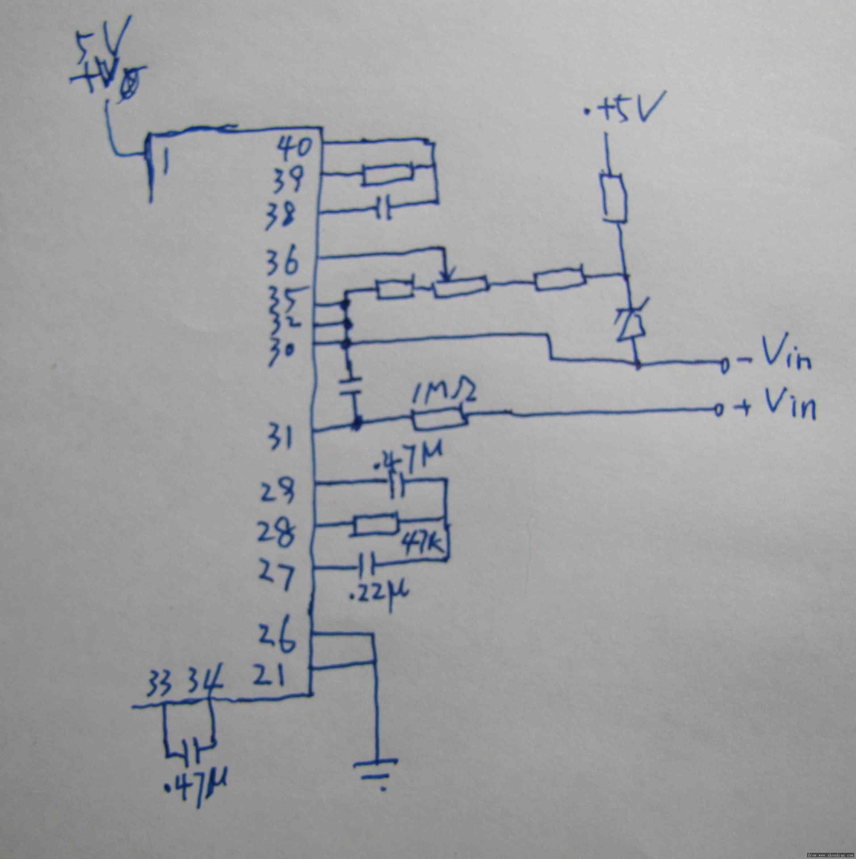 icl7107,想做2a电流表,电阻选取0.1欧,对吗?看一下3楼的电阻