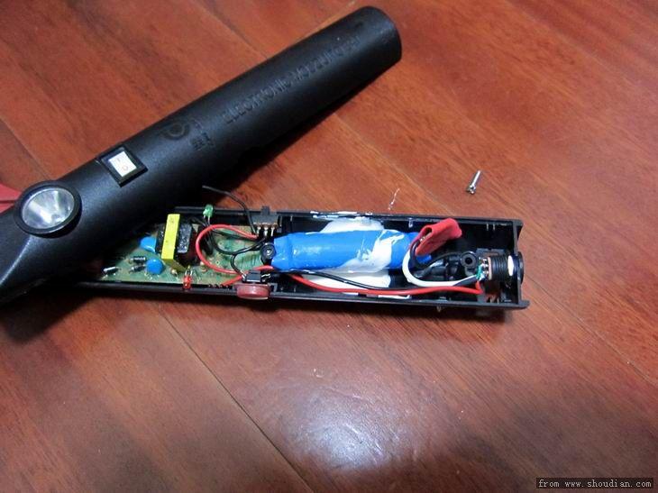 改了一个电蚊拍 - 电池,充电器,综合diy - 手电大家谈