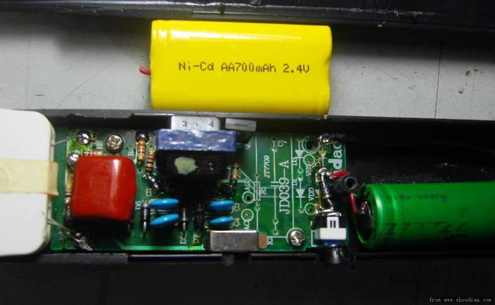 电蚊拍 维修&改18650 - 电池,充电器,综合diy - 手电